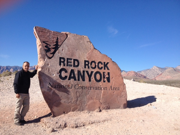 Entrada de Red Rock
